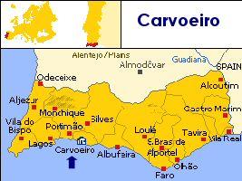 Carvoeiro Algarve Portugal Privately Owned Villas Ideally - Portugal map carvoeiro